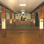 Trainingsraum mit Mattenfläche
